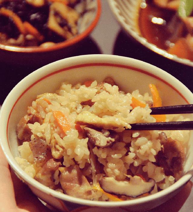 和食のいろは 「は」五目炊き込みご飯
