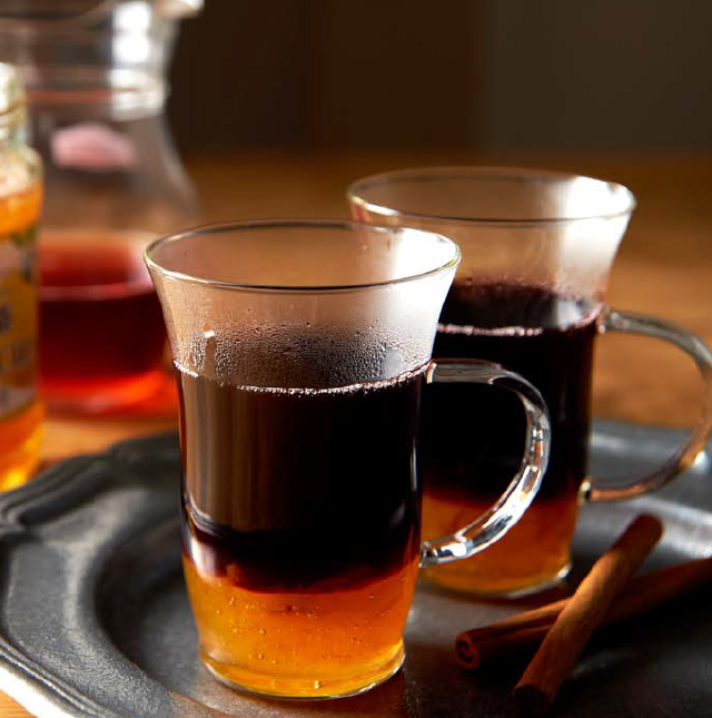 柚子茶ホットワイン
